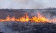 Випалювання трави наносить серйозну шкоду людям та довкіллю