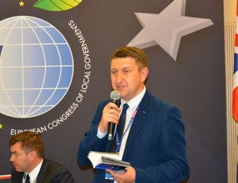 Селищний голова взяв участь у Європейському конгресі місцевого самоврядування