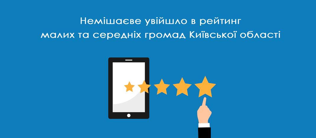 Рейтинг малих та середніх громад Київської області