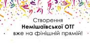 Став відомий остаточний склад Немішаївської ОТГ